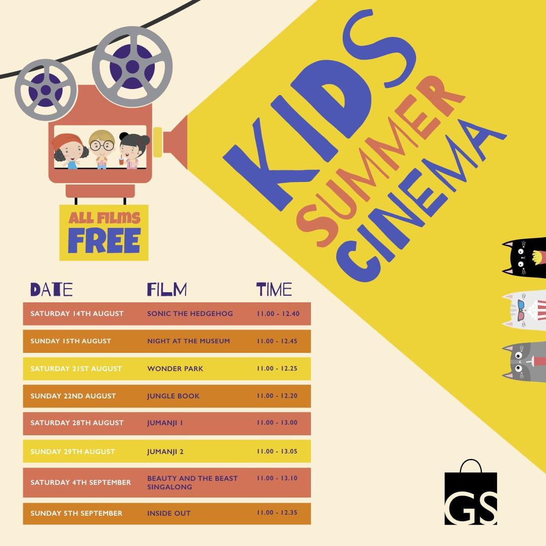 Kids Summer Cinema