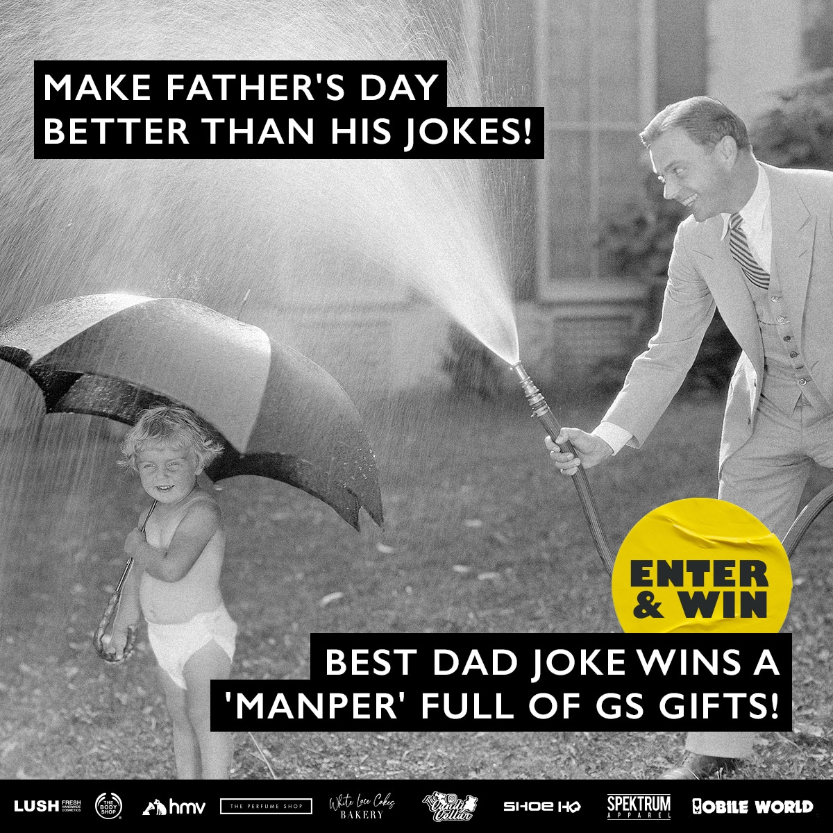 Dad's the word!