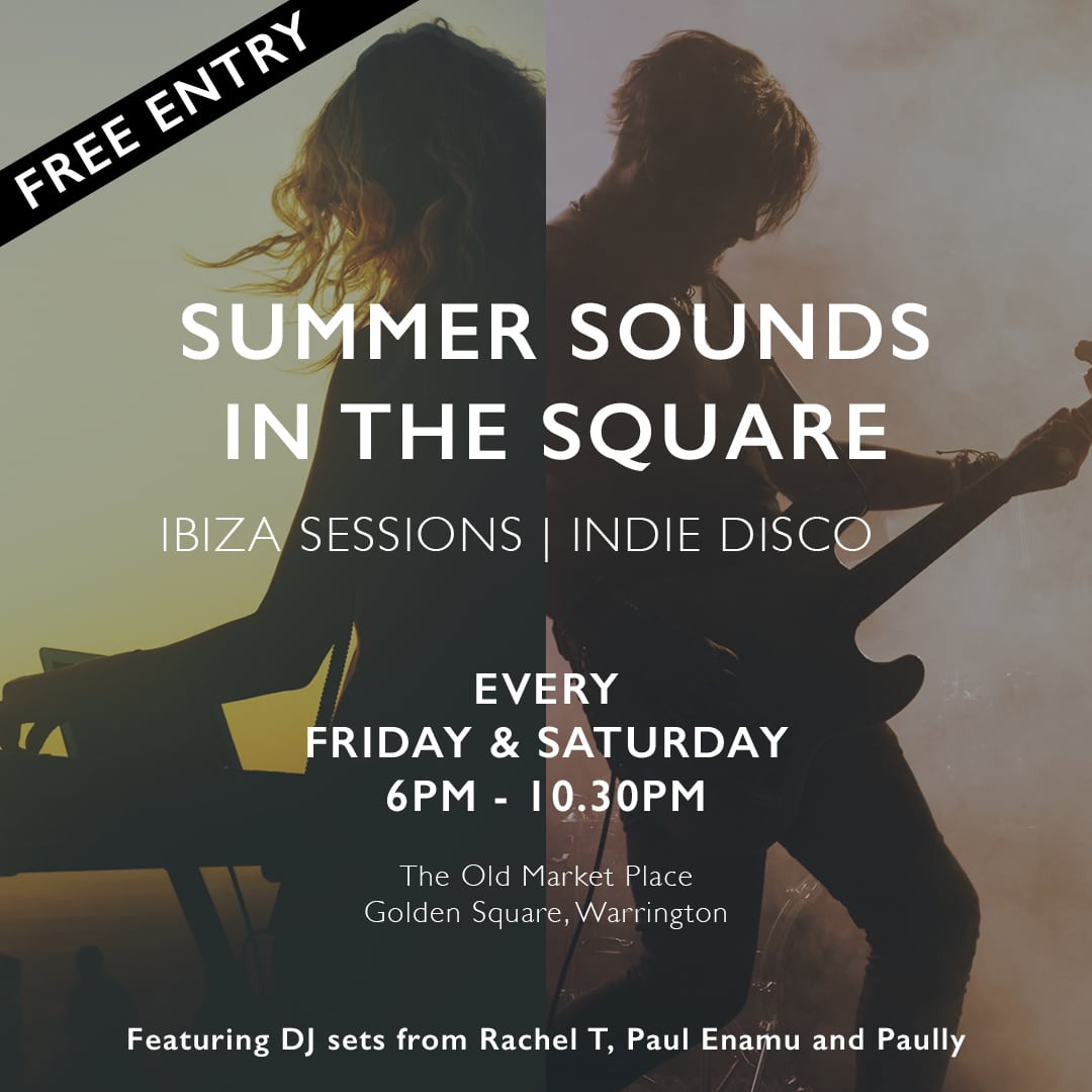 Summer sounds in the Square!