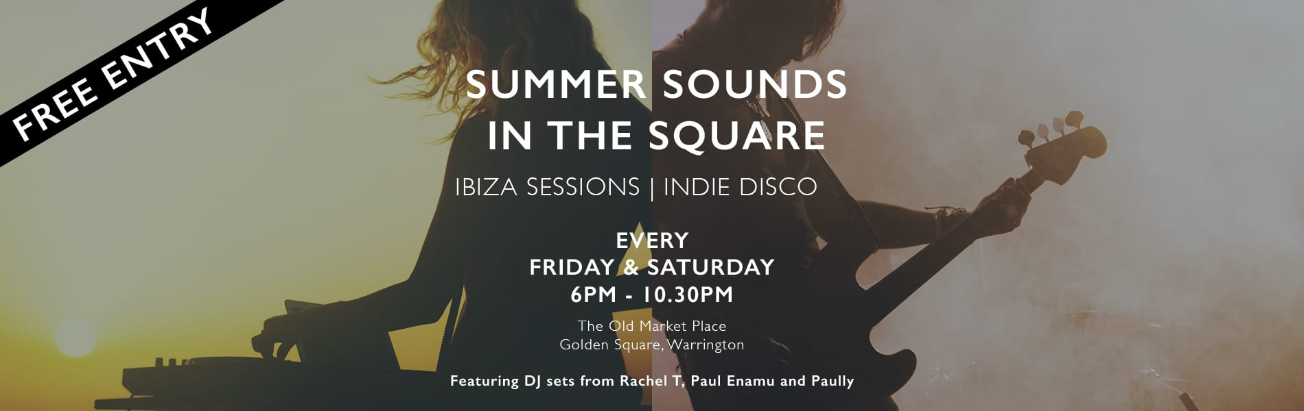 Summer sounds in the Square
