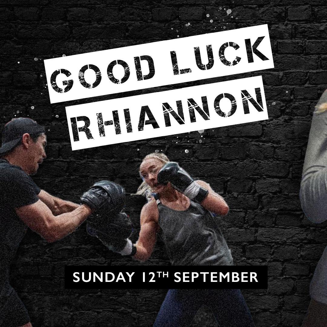 Good Luck Rhiannon!